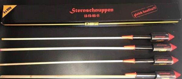 Sternschnuppen F3 Raketen aus Berlin
