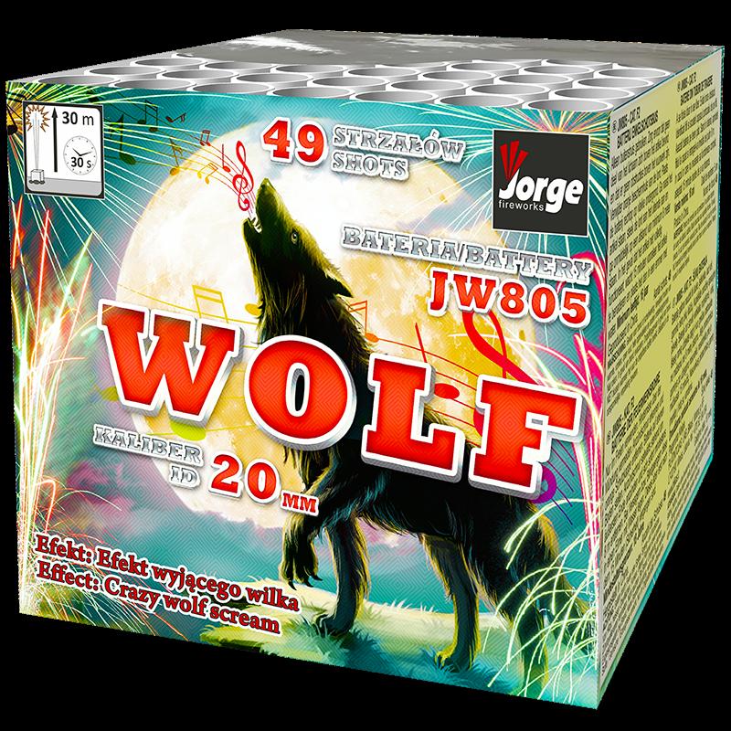 Jorge JW805 - Wolf - Abbiegende Heulkometen