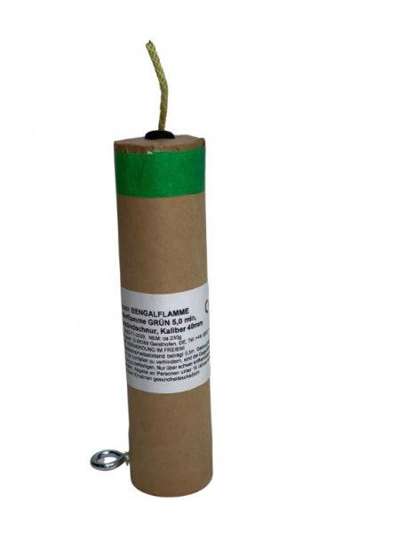 Bengalflamme 5 Minuten Grün Kaliber 40 mm
