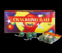 TC9 - 6 tolle Crackling Bälle F1 Feuerwerk