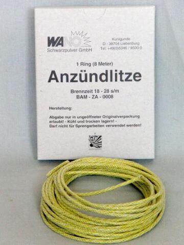 Pyrolager.de - gelbe Anzündlitze von Wano