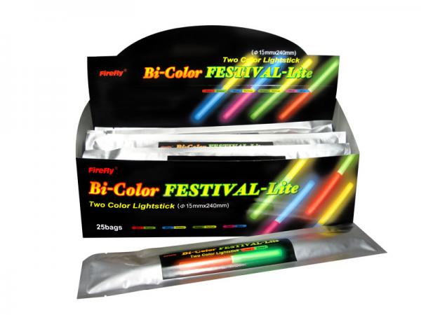 BiColor - zweifarbige Knicklichter