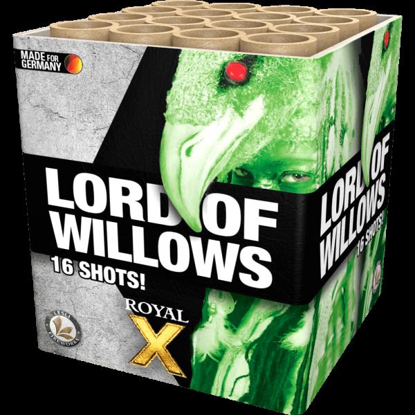 Lord of Willows - 16 Schuss Brokat Goldweiden, kombiniert mit modernen Effekten