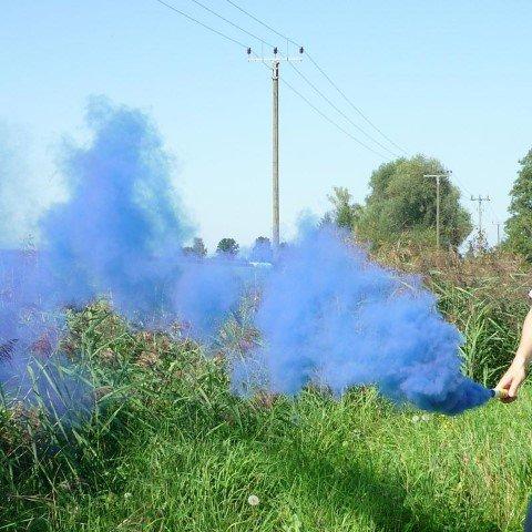 Mr Smoke 1 - Blau