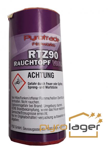 Rauchtopf RTZ90 Violet - Pyrolager.de