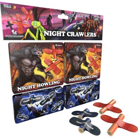Night Crawler - 12 teiliges Set Feuervögel von Lesli