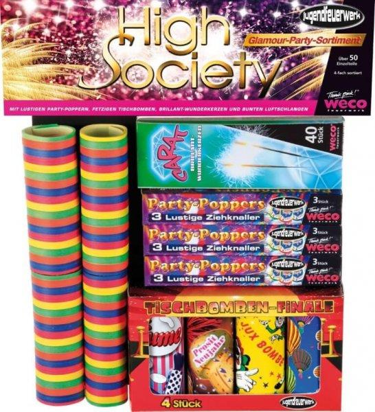 Jugendfeuerwerk High Society