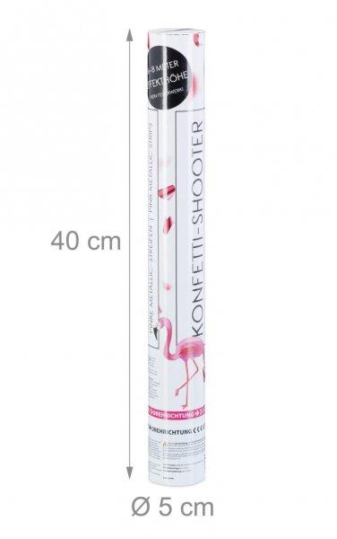 Shooter Pink 40 cm mit pinken Folien und Druckluft
