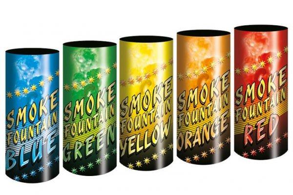 JFS-1 Rauchfontäne in 5 Farben