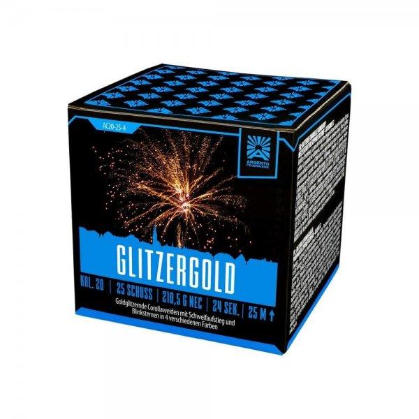 Glitzergold - 25 Schuss und ein Traum in Gold