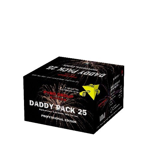 Daddy Pack 25 - XXL Feuerwerk