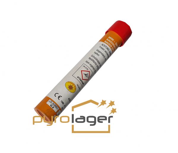 Rauchfackel mit Reibezündung orange von JGW Berckholtz