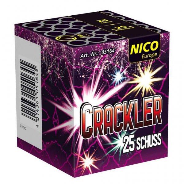 Crackler - 25 Schuss mini Batterie aus dem Hause Nico Feuerwerk