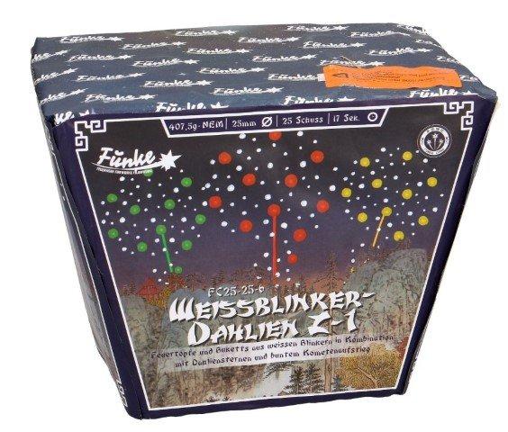 Weissblinker- Dahlien Z-1 Funke