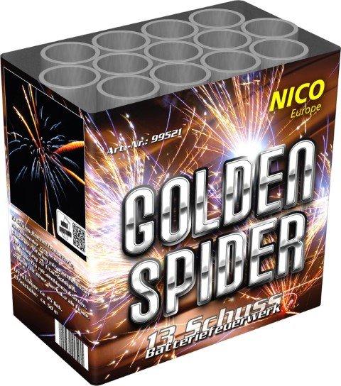 Golden Spider von Nico Feuerwerk - 13 Schüsser
