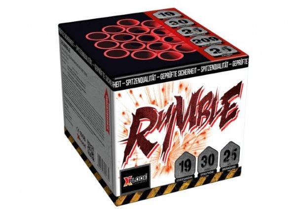 Rumble - XP5257 19 Schuss Feuerwerk von Xplode