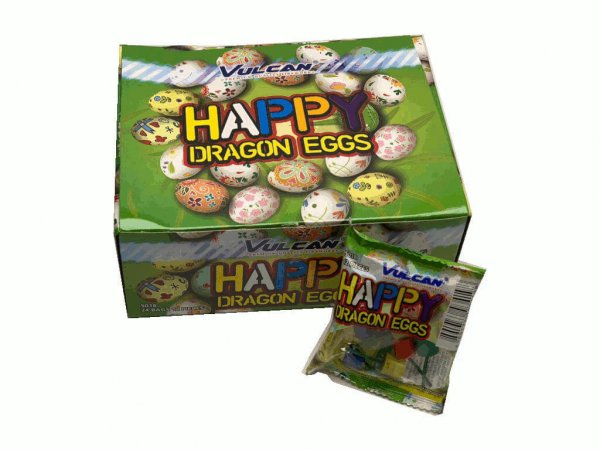 Dragon Eggs - Tolle crackling Kinderfeuerwerk