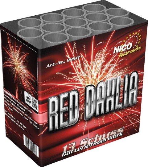 Red Dahlia von Nico Feuerwerk - 13 Schüßer