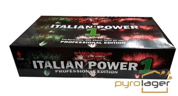 Italian Power 1 - XXL Feuerwerk im Pyrolager.de