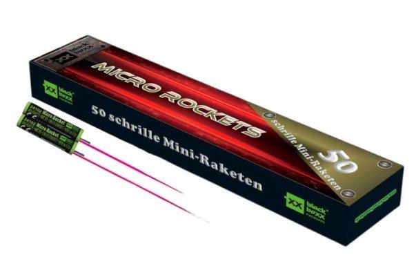 50 Mini Raketen - Micro Rockets