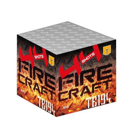 Fire Craft - TB194 - Satte Zerleger und große, unterschiedliche Effekt als F3 Feuerwerk