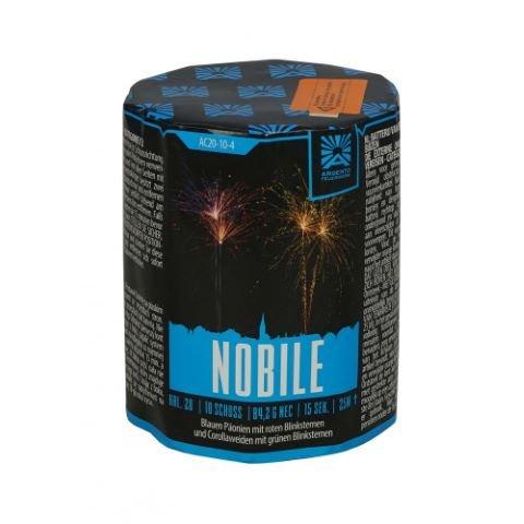 Nobile - Kleine 10 Schuss Batterie mit kräftigen Effekten