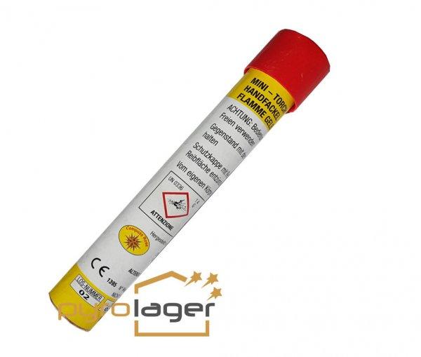 Rauchfackel mit Reibezündung gelb von JGW Berckholtz