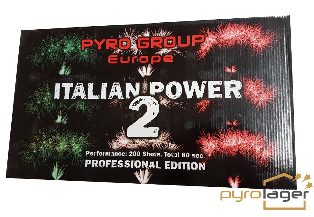 Italian Power 2 - XXL Feuerwerk im Pyrolager.de