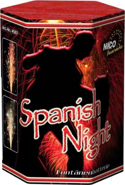 Spanish Night - 5 fach Fontänenbatterie