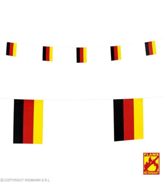 Girlande mit Deutschland Flaggen