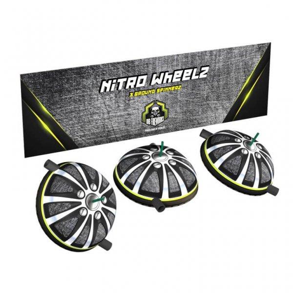 Nitro Wheelz - Schrille Bodenkreisel mit kräftigen Farben in F2