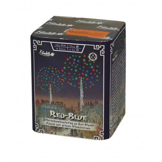 Rot und Blaue Päonien von Funke Feuerwerk