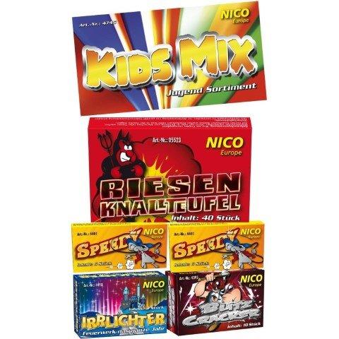 Kids Mix Kinderfeuerwerk Beutel mit 5 Schachteln