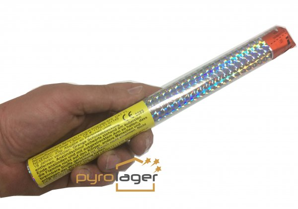 Bengalfackel Silber - Pyrolager.de