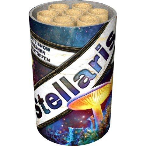 Stellaris - Kombination von Fontänen und Feuertöpfen