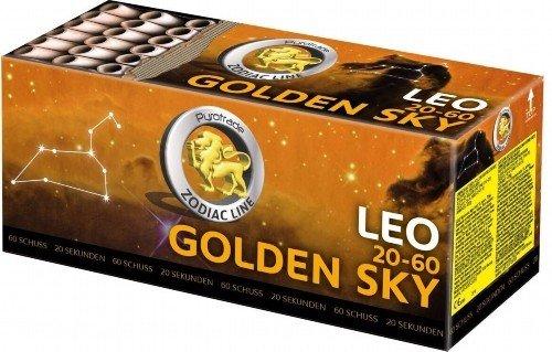 Golden Sky - Leo 20-60 - goldene Wasserfälle mit goldenen Schweifaufstieg