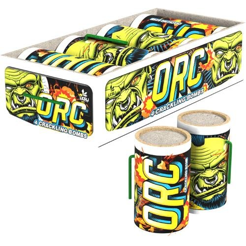 orc - 4 kräftige Crackling Feuertöpfe