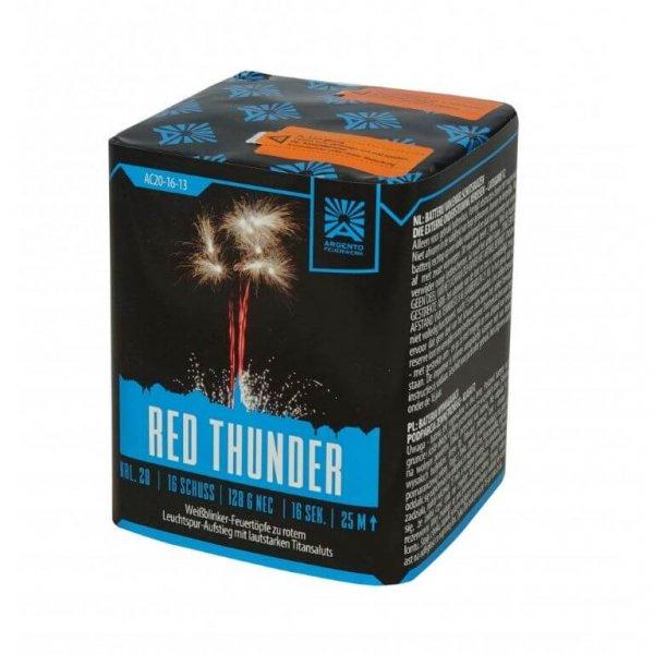 Red Thunder 1.3G - kein Versand - Titansalut Batterie von Argento