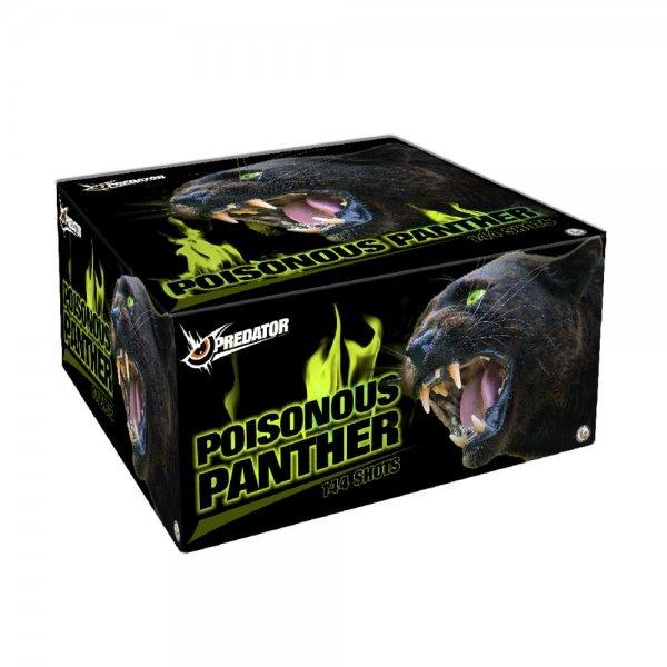 Poisonous Panther - 144 Schuss Verbundfeuerwerk