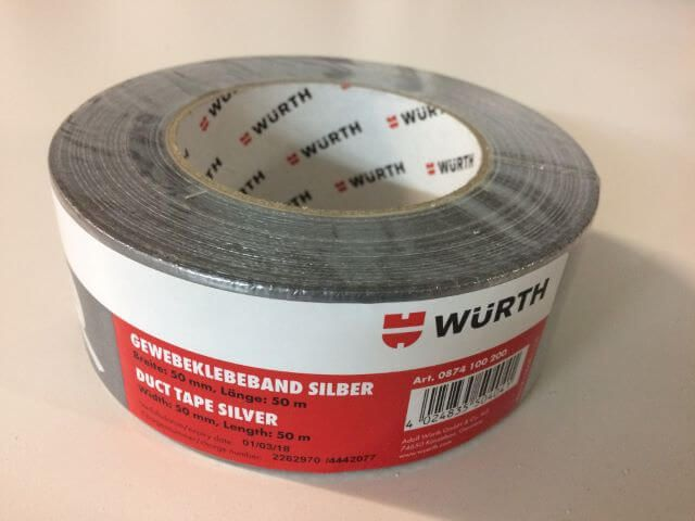 pyrolager.de - Panzertape Gewebeklebeband in silber