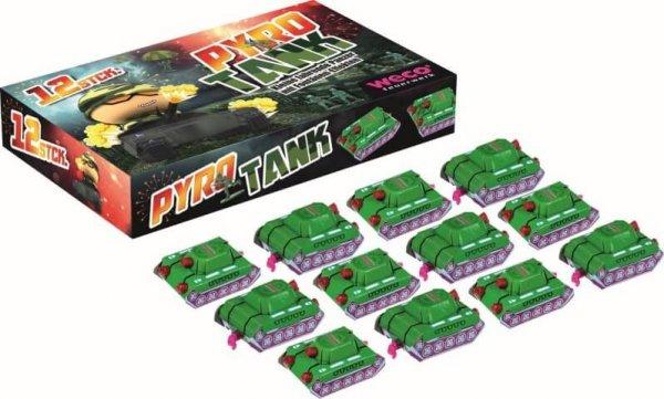 2 kleine fahren Pyro Panzer - Pyro Tank