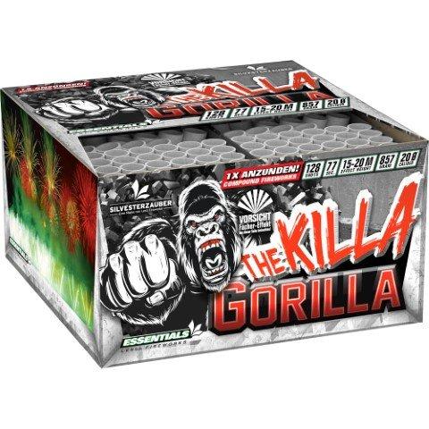 The Killa Gorilla - 128 Schuss XXL Feuerwerk mit toll kombinierten Effekten