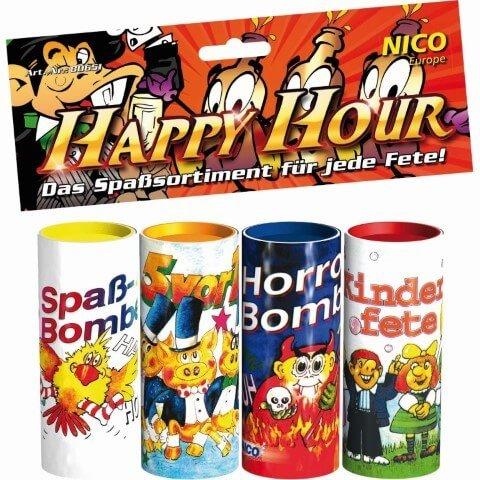 Happy Hour - 4x Tischfeuerwerk von Nico Feuerwerk