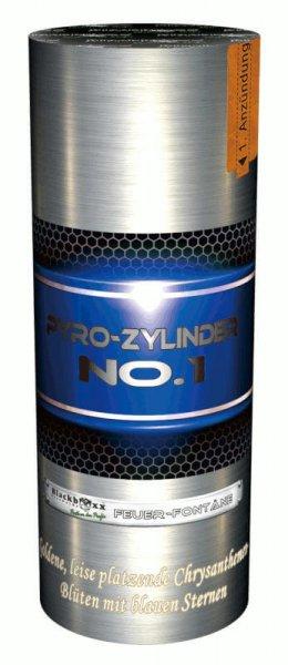 Pyro-Zylinder No. 1 - Prächtige, leise Fontäne