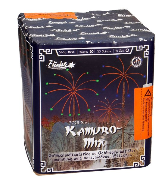 Kamuro Mix - Goldeffekt Batterie von Funke