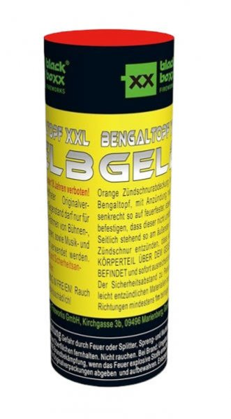 Bengaltopf XXL, Gelb