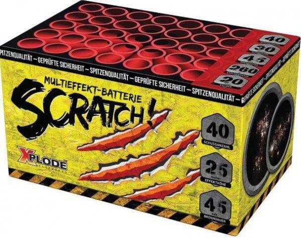 xp5305 Scratch - Günstige 40 Schuss Batterie von Xplode mit tollen Effekten