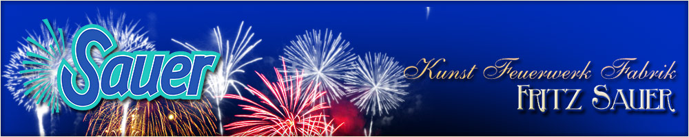 Sauer Feuerwerk