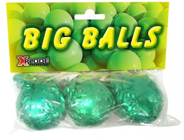 Big Balls - 3 große Cracklingbälle von Xplode