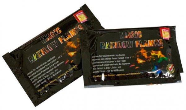 Magic Rainbow Flames - Flammenfarbe